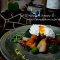 +*タコと野菜のグリル レモン塩添え ポーチドエッグのせ+* by shizueさん
