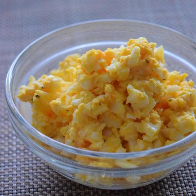 卵だけで、一品作りたいときには玉子サラダ|今年の恵方巻きは、親子で作りませんか?パパの料理塾 1/23(水)@麻布十番で