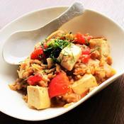 豆腐とトマトの麻婆風