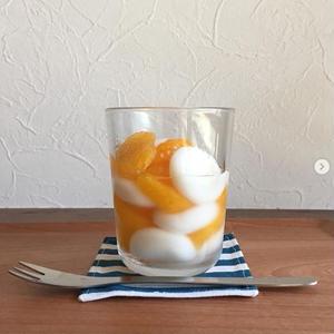 さっぱりおいしい簡単おやつ「#フルーツ白玉」をつくろう!