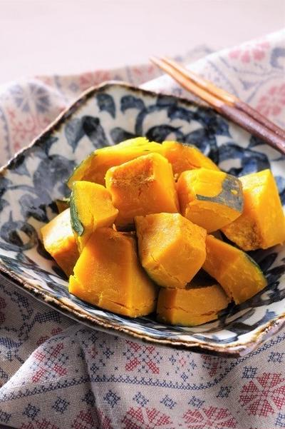 常備菜にも!ほっくり美味しい かぼちゃの塩煮