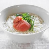 熱中症予防に梅干し素麺!