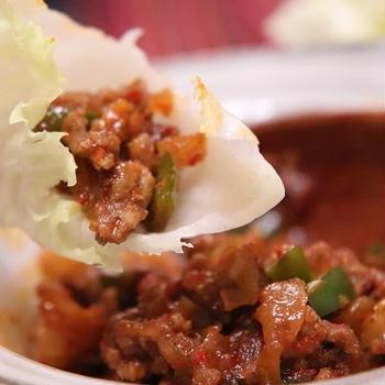 ★旨辛ミンチで野菜&中華麺(ダイエット23日)