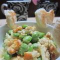 「チキンと枝豆のスパイシーサラダ」