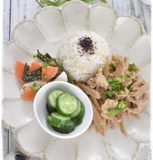 豚肉とごぼうの甘辛生姜味噌炒め
