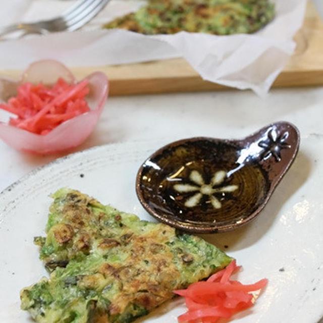 天ぷら粉でカリッと牡蠣と白菜のチヂミ