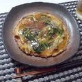 かた焼きそばと残り物あんかけ(Grilled Noodles with Left Over Sauce)