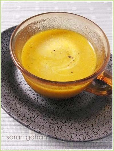 かぼちゃのココナッツミルクのスープ