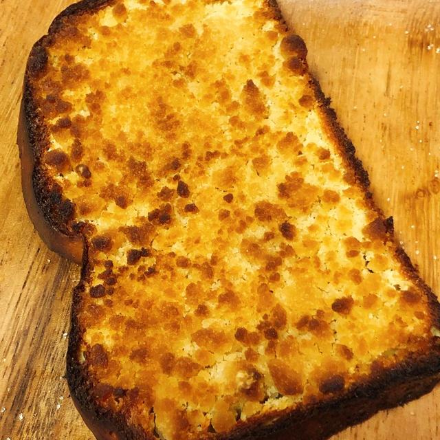 【低糖質】メロンパン風トースト【試作品】