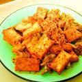 厚揚げとキャベツの味噌粕キムチ炒め♡ by Lau Ainaさん
