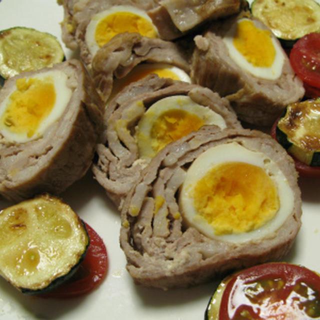 ロール豚エッグ(レシピ)
