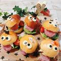 ハロウィンハンバーガー、ハロウィン弁当、ハロウィンGOGO(笑) ~男子高校生弁当☆~