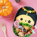 ハロウィンキャラ弁☆チーズで簡単のり弁(初級)