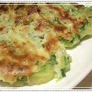 お豆腐のチヂミの簡単料理レシピ&ダイエットワンポイントアドヴァイス
