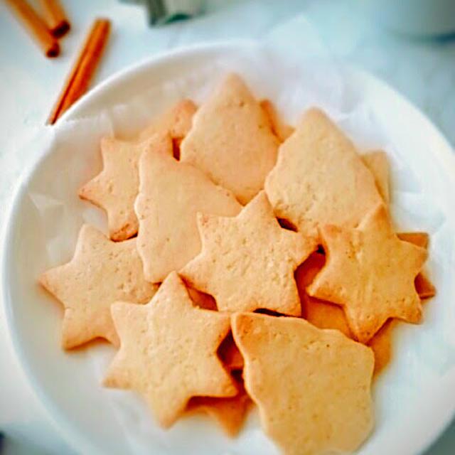 サクサク♪米粉のジンジャークッキー[レシピ]