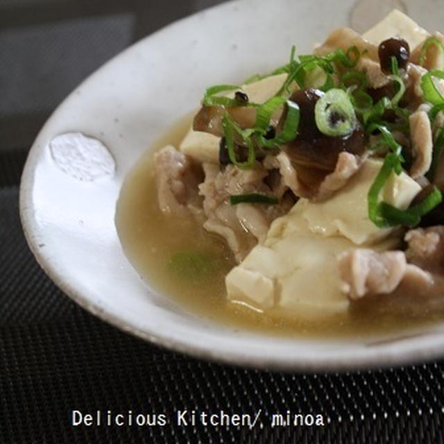 簡単・肉豆腐。~レシピ~