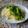 シンプル卵炒飯 野菜あんかけ