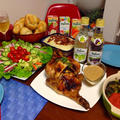 チキンとThanksgiving Dinner