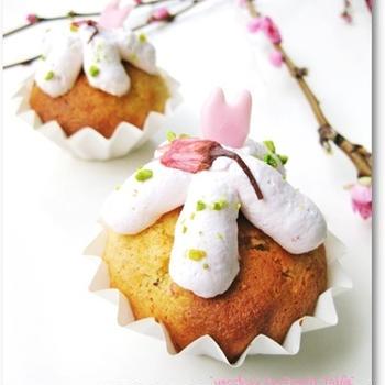 *桜のカップケーキ*