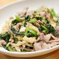 【レシピ】毎日の味に飽きたらナンプラーを使え!かんたん豚小間とほうれん草のピリ辛ナンプラー炒め