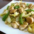 【簡単レシピ】鶏むね肉とキャベツのカレーマヨ炒め♪ by bvividさん
