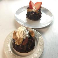 【チョコレートのお菓子】ふわふわが食べたかったら☆カルダモン香るチョコレートケーキ