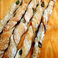 ヤマキタ夏のパン祭り、酒粕パワーでパンを醸す、枝豆とチーズのグリッシーニ