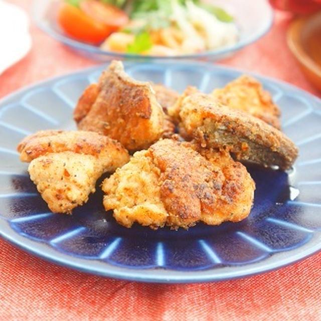【スパイスアンバサダー】秋鮭で揚げないスパイシーフライドサーモン