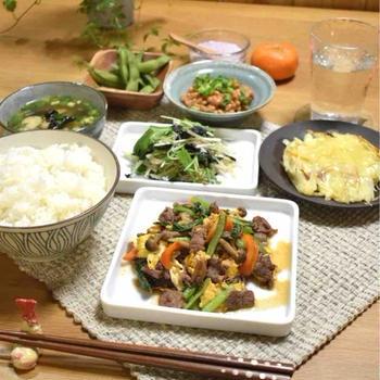 【レシピ】牛肉と彩り野菜のオイスター炒め✳︎ご飯のおかず✳︎鉄分吸収アップ…受験前日晩ごはん。