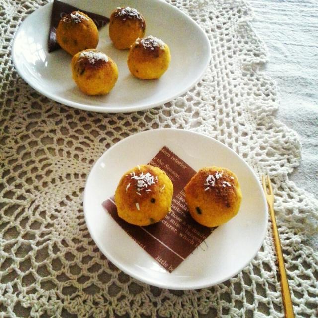 かぼちゃのおからボール【レシピ】