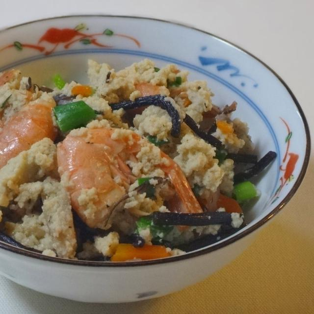3. 具だくさん!粉豆腐と甘エビの煮物