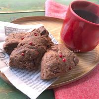 【GABANでパーティーやおもてなしに】トースターdeチョコ&ピンクペパースコーン♡レシピ