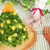 薩摩芋サラダのクリスマスツリー