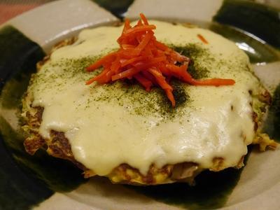 ★ キャベたまチーズ焼き&コクかぼスープ