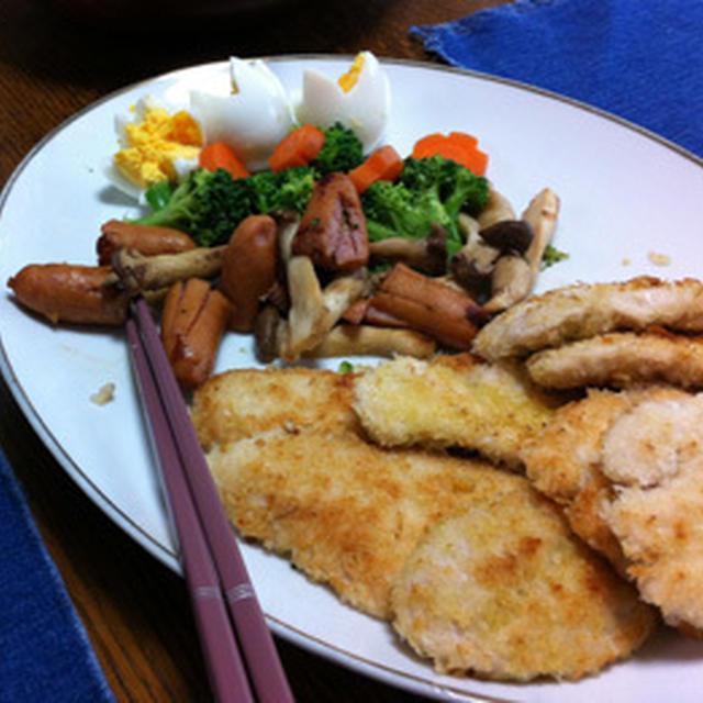 柔らかい鶏胸肉のチキンカツ