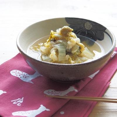 白菜の塩麹煮とごはん日記帖