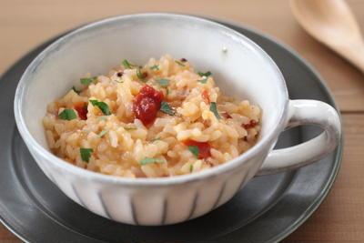 トマトの塩漬調味料 「そるとまと®」で5分でできる簡単リゾット