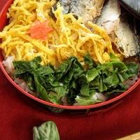 焼さんまの寿司弁当風suschi+