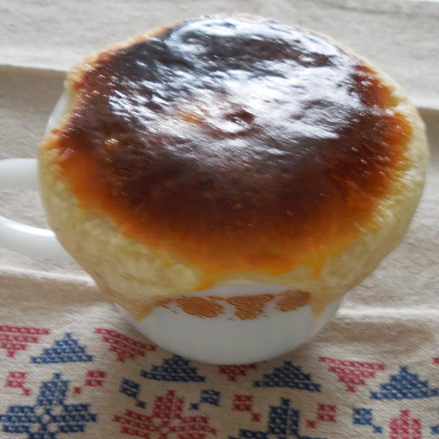 グリンピースのスープのパイ包み焼き