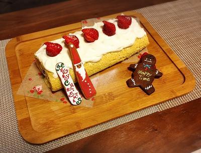 ロールケーキ☆クリスマス