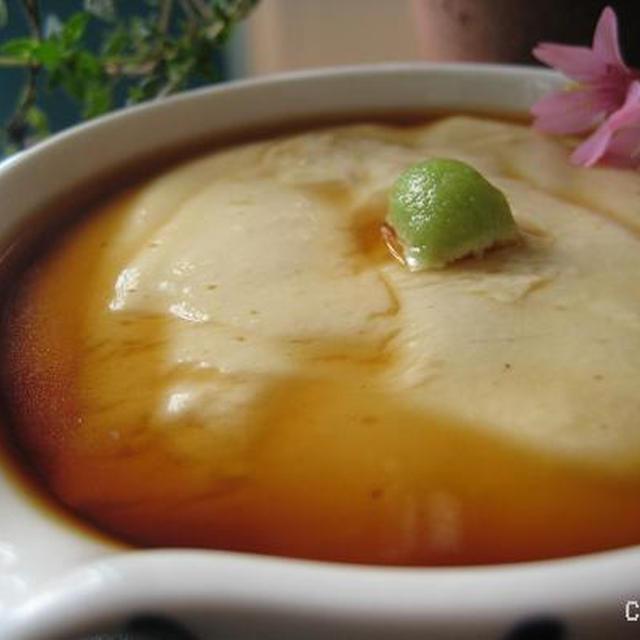 簡単!豆乳で手作り胡麻豆腐
