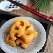 <和レシピ>レンジで甘辛酢れんこん&さきいかの生姜たきこみご飯