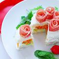 【レシピ動画】おもてなしに!ケーキ風サンドイッチの作り方☆ by 和田 良美さん