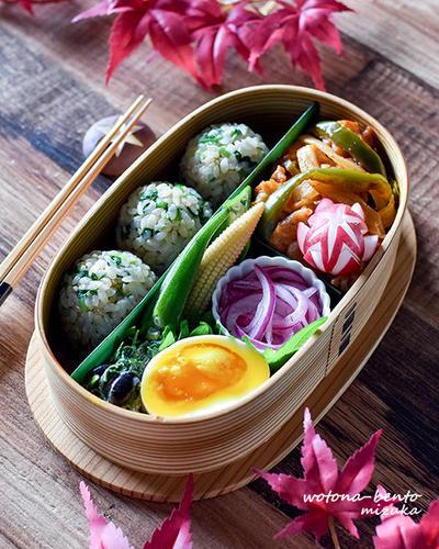 10/11 豚肉のケチャップ炒め弁当