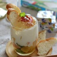 キリで作るポテトサラダのグラスティラミス