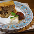 【レシピ】栗渋皮煮のシフォンケーキ