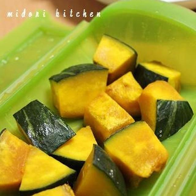 ルクエで簡単♪かぼちゃの塩煮