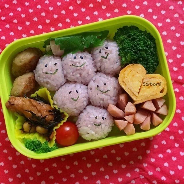 2015/06/19 幼稚園弁当☆やっとこさ買ってきました!! フルーツシリーズ キャラ弁