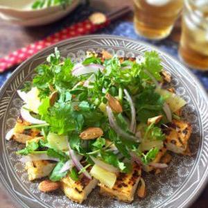 野菜がもりもり食べられる!「厚揚げサラダ」おすすめレシピ