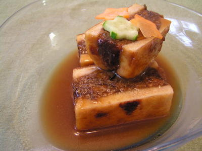 高野豆腐のWサンド煮